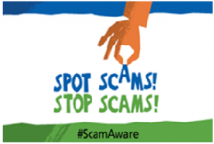 National Scams Awareness Month 2018